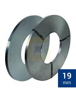 Staalband omsnoering EW 19mm, Zwart gelakt