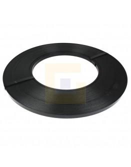 Staalbandhaspel zwart, voor enkelvoudig staalband