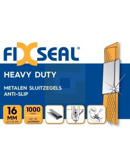 Metalen sluitzegels FIXSEAL Heavy duty KO 16 mm