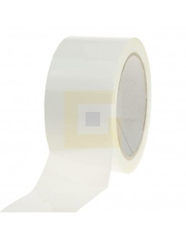 PP acryl tape 48mm/66m Wit Low-noise