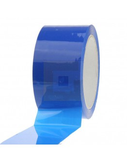 PP acryl tape 50mm/66m Blauw Low-noise