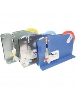 Zakkensluiter tape PVC blauw 9mm