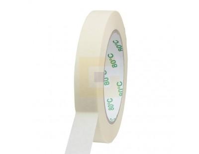 Maskeertape 19mm/50m - Extra 80°C Tape - Plakband
