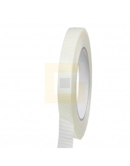 Filament tape 12mm/50mm Ruit versterkt