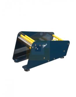 Etiketrolhouder 2-vaks 115mm
