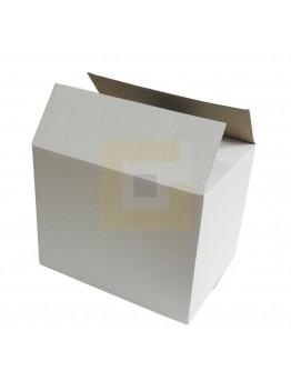 Vouwdoos Fefco-0201 EG wit 348x240x282mm (doos H)