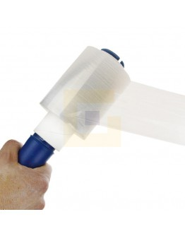 Blauwe foliedispenser Handy wrap