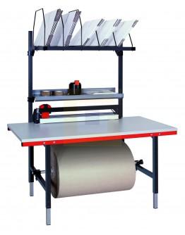 Paktafel 160 x 80 cm compleet met snij-unit (Hüdig + Rocholz)