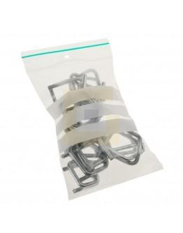 Gripzakken 100x150mm met schrijfvlakken