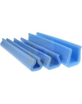 Schuimprofielen U-tulp 25-35mm/ 41mm/200cm (Doos 120 st.)