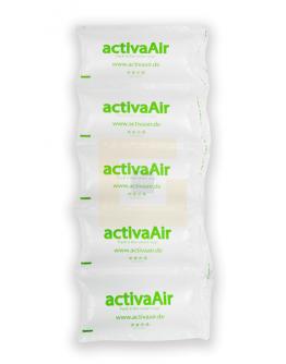 Luchtzakjesfolie ActivaAir 10 x 20cm, 700mtr transparant