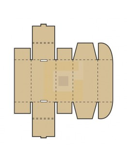 Postbox Postdoosje A5+ 235x185x46mm