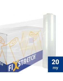 Fixstretch wikkelfolie 20my / 50cm / 300mtr