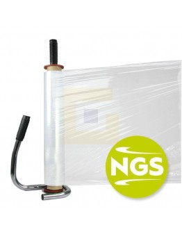 Handwikkelfolie New Generation 12µ / 50cm / 300mtr transparant