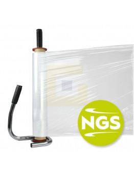 Handwikkelfolie New Generation 7µ / 43cm / 600mtr Pre-Stretch