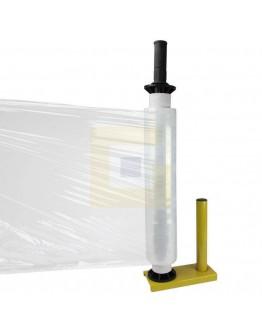Foliedispenser metaal geel SR50