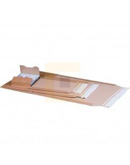 Wikkel-kartonverpakking met plakstrip, 335 x 275 x (-) 80mm (C4+)