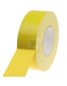 Duct tape Pro Gaffer Lijmrestvrij Geel 50mm/50m