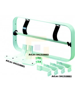 Rolhouder H+R STANDARD raam 80cm voor papier+folie