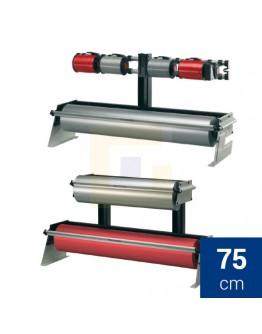 Rolhouder 75cm Rocholz ZAC tafel/ondertafel voor papier + folie