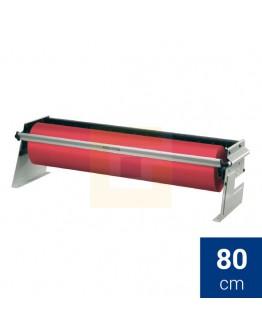 Rolhouder 80cm Rocholz  ZAC tafel/ondertafel voor papier + folie
