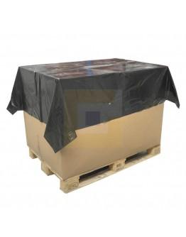Topvellen zwart 35my, 150 x 180cm - Rol 250st.