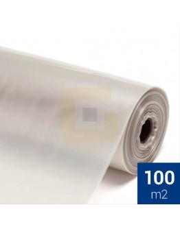 Afdekfolie / Bouwfolie Recycled LDPE T200, rol 2x 50mtr