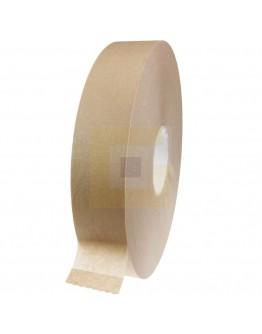 Papertape 50/500 bruin zelfklevend solvent machinerol