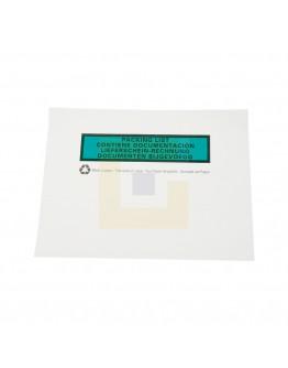 Papieren documenthoesjes BIO C6 162x120mm, 1000 stuks