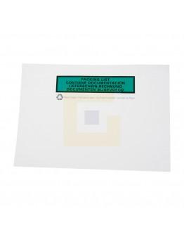 Papieren documenthoesjes BIO C5 228x165mm, 1000 stuks