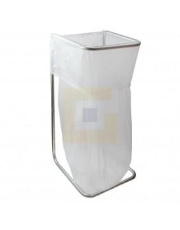 Afvalzak 400 liter transparant T50 - 50 stuks