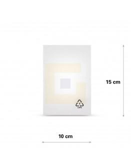 Vlakke zak LDPE, 10x15cm, 50my - 4000x