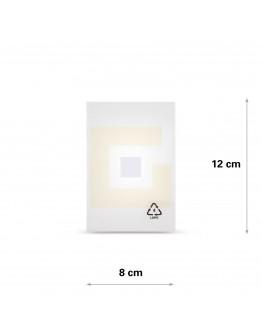 Vlakke zak LDPE, 08x12cm, 50my - 5000x