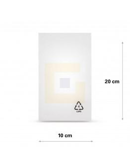 Vlakke zak LDPE, 10x20cm, 50my - 5000x