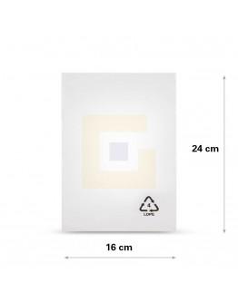 Vlakke zak LDPE, 16x24cm, 25my - 4000x