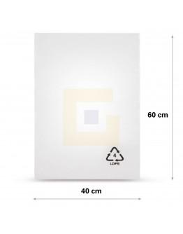 Vlakke zak LDPE, 40x60cm, 25my - 1000x