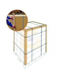 Hoekprofielen ECO karton 45mm, 180cm - 100 stuks