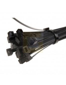 Kabelbinders Tyraps 300mm x 4,8mm zwart - 1000 stuks