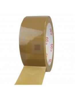 PP Solvent Tape 48mm/66m Bruin