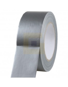 """Duct tape """"Extra kwaliteit""""  50mm /50mtr Grijs"""