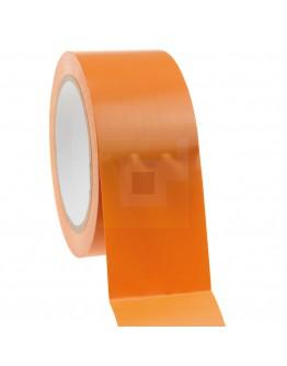 Bouwtape PVC oranje 50mm/33m, 150my