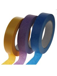 Masking tape gekleurd
